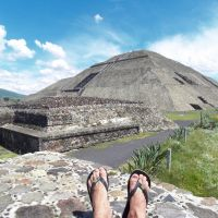 Ceva - Teotihuacan (Mexique)