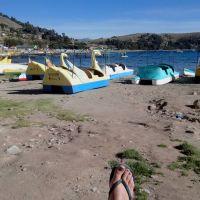 Guimette - JMT2014 - Lac Titicaca, Copacabana (Bolivie)