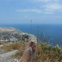 Stef - JMT2015 - Ancient Thera, Santorini (Grèce)
