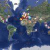 La carte du monde à son apogée (2012)
