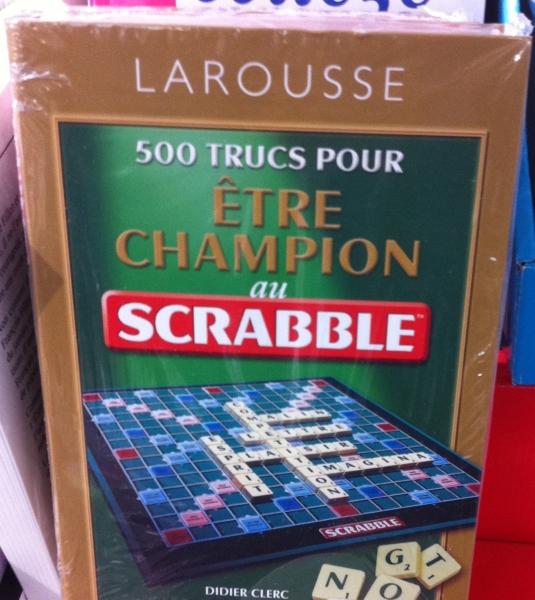Etre champion au Scrabble, 4 lettres suffisent